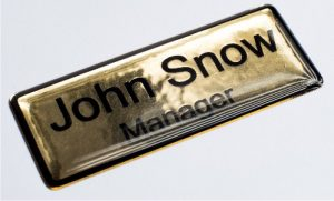 resin casting for name badges in cape town south africa